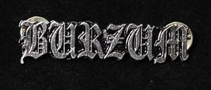 """Burzum - Logo 2"""" Metal Badge Pin"""