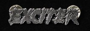 """Exciter - Logo 2"""" Metal Badge Pin"""