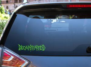 "Decapitated - Logo 7x2"" Vinyl Cut Sticker"