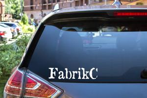 "FabrikC - Logo 7.2"" Vinyl Cut Sticker"