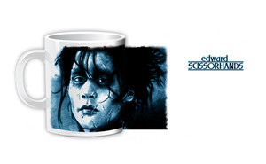 Edward Scissorhands Face Coffee Mug