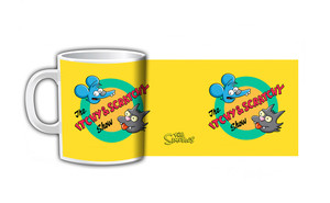 The Itchy & Scratchy Show Coffee Mug