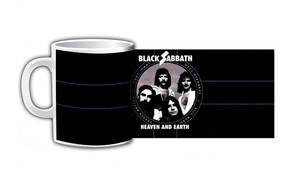 Black Sabbath Heaven and Earth Coffee Mug
