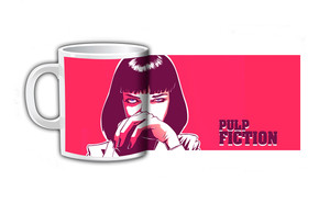 Pulp Fiction Mia Coffee Mug
