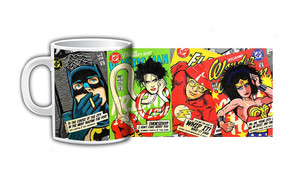 Justice League Post Punk & New Wave Comics - Coffee Mug