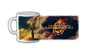 The Hunger Games Catching Fire Coffee Mug