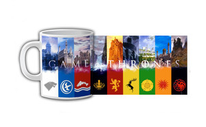 Game of Thrones Crests Coffee Mug