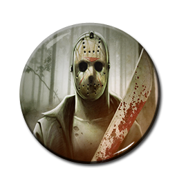 "Jason - Machete 1.5"" Pin"