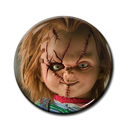 "Child's Play - Chucky 1.5"" Pin"