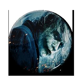 """The Joker - Blue 1.5"""" Pin"""