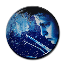 "Edward Scissorhands - Poster 1.5"" Pin"