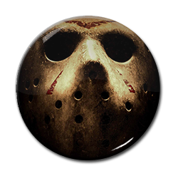 "Friday 13th - Jason Voorhees - Mask 1.5"" Pin"
