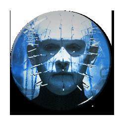 "Hellraiser - Pinhead 1.5"" Pin"