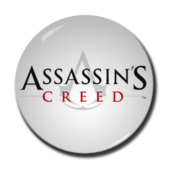 "Assasin's Creed Logo 1.5"" Pin"