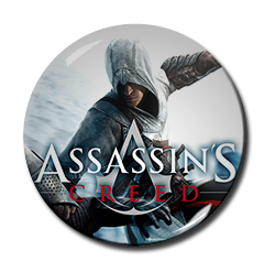 "Assasin's Creed - Arno 1.5"" Pin"