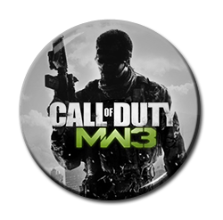"Call of Duty 1.5"" Pin"