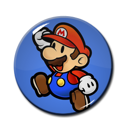 "Super Mario Bros 1.5"" Pin"