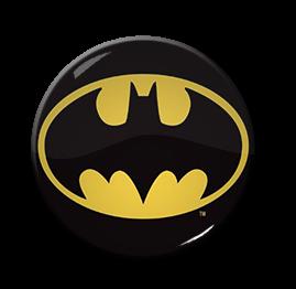 """Batman - Comic Logo 1.5"""" Pin"""