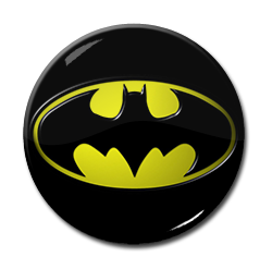 "Batman - Movie Logo 1.5"" Pin"