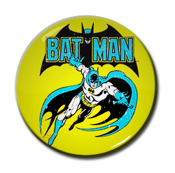 "Batman - Comic 1.5"" Pin"