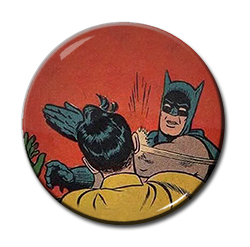 "Batman - Slap 1.5"" Pin"