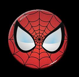 "Spiderman - Eyes 1.5"" Pin"