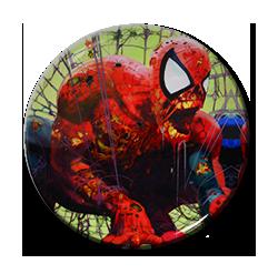 """Zombie Spiderman - Cobweb 1.5"""" Pin"""