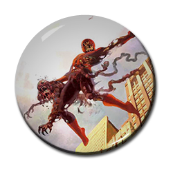 "Zombie Spiderman 1.5"" Pin"