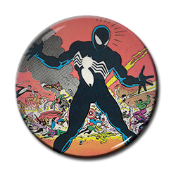 "Spiderman - Black Suit 1.5"" Pin"