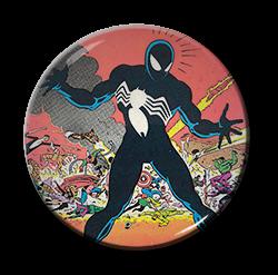 "Spiderman - Black Suit 1.5"" Pin"