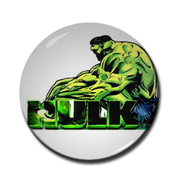 "Hulk 1.5"" Pin"