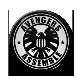 "Avengers Assemble - Logo 1.5"" Pin"