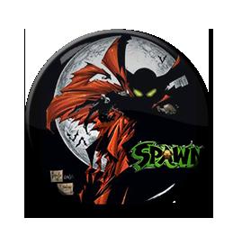"""Spawn - Moon 1.5"""" Pin"""