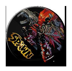 """Spawn - Gun 1.5"""" Pin"""