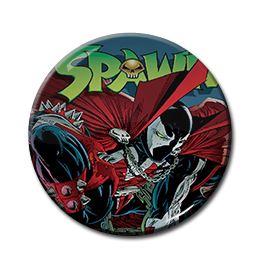 "Spawn - Cape 1.5"" Pin"