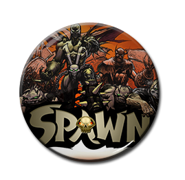 "Spawn - Demons 1.5"" Pin"