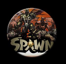 """Spawn - Demons 1.5"""" Pin"""