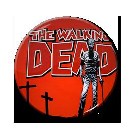 "The Walking Dead - Rick Grimes 1.5"" Pin"