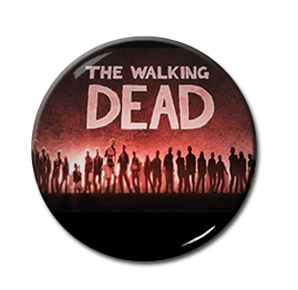 "The Walking Dead - Zombies 1.5"" Pin"