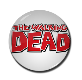 "The Walking Dead - Logo 1.5"" Pin"