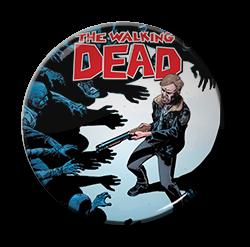 """The Walking Dead - Sheriff 1.5"""" Pin"""