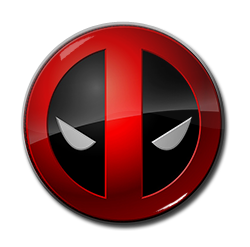 "Deadpool - Eyes 1.5"" Pin"