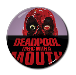 "Deadpool - Merc With a Mouth 1.5"" Pin"