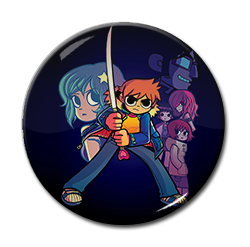 "Scott Pilgrim 1.5"" Pin"