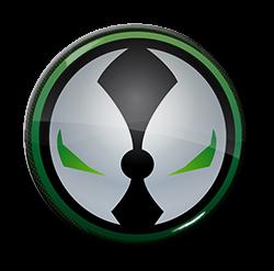 """Spawn - Logo 1.5"""" Pin"""