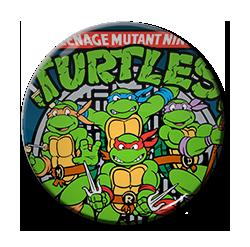 """Teenage Mutant Ninja Turtles 1.5"""" Pin"""