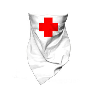Red Cross Bandana