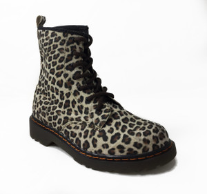 Panam - Women's Vegan 7i Leopard Print Boots