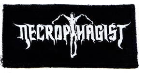 "Necrophagist Logo 7x4"" Printed Patch"