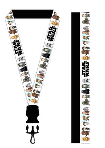 Anime Star Wars Lanyard